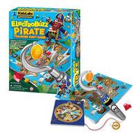 4M KidzLabs Gamemaker ElectroBuzz Pirate Treasure Hunt1}