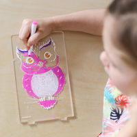 Aloka Colour Me Owl Lamp