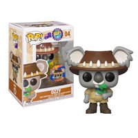 Around the World - Ozzy the Koala Pop Vinyl Figure with Collector Pin1}