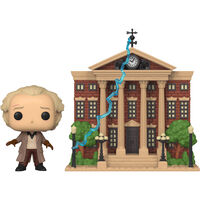 Back to the Future Doc with Clock Tower Pop Town