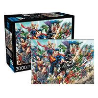 DC Comics Cast 3000pc Jigsaw Puzzle1}