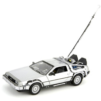 Delorean Time Machine 1:24 Scale Die Cast Car