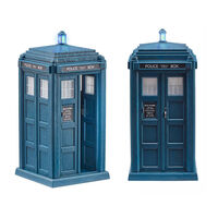 Doctor Who 13th Doctor's Tardis with Lights and Sound1}