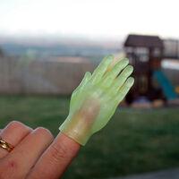 Glow in The Dark Finger Hands Finger Puppet1}