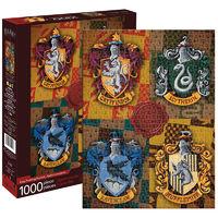 Harry Potter Crests 1000 Piece Jigsaw