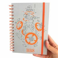 Star Wars BB-8 A5 Spiral Notebook1}