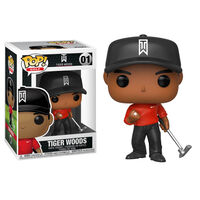Tiger Woods Pop Vinyl Figure1}