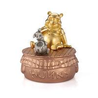 Limited Edition Gilt Winnie the Pooh Music Carousel1}