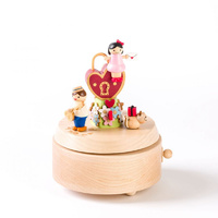 Lovers Lock Wooden Musical Box