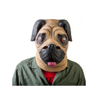 Madheadz Pug Party Mask
