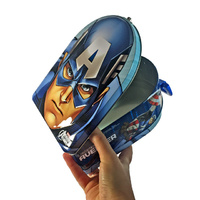 Marvel Avengers Captain America Carry All Tin