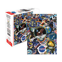 NASA Mission Patches 1000 piece Jigsaw Puzzle1}