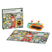 Robot Factory 100pc Decoder Jigsaw Puzzle