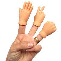 Rock Paper Scissors Mini Finger Hand Puppets 3 Pack1}