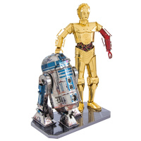 Star Wars Metal Earth R2-D2 and C-3PO Gift Box1}