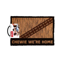 Star Wars Chewie We're Home Door Mat