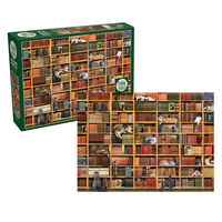 The Cat Library 1000pc Jigsaw Puzzle