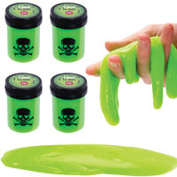 Toxic Slime Four Pack