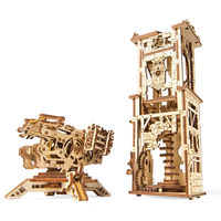UGears Archballista Mechanical Tower Kit