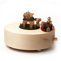 Zoo Wooden Musical Box1}