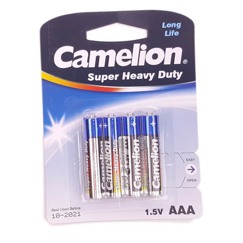 Alkaline AAA Batteries - Pk of 4
