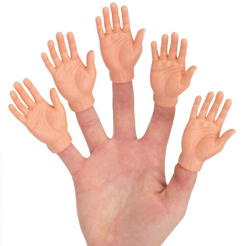 Finger Hands Finger Puppets 5 Pack