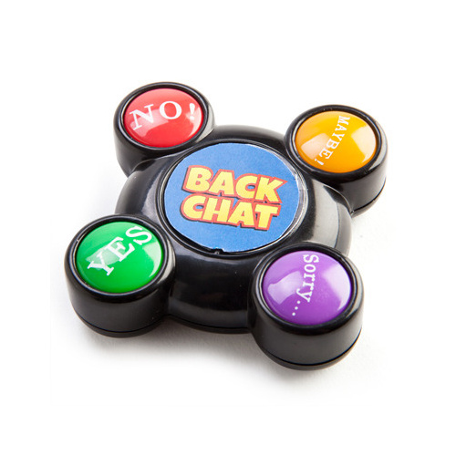 BackChat Buttons