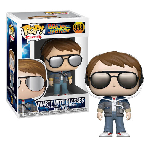 Back to the Future Marty with Sunglasses Pop Vinyl Figure