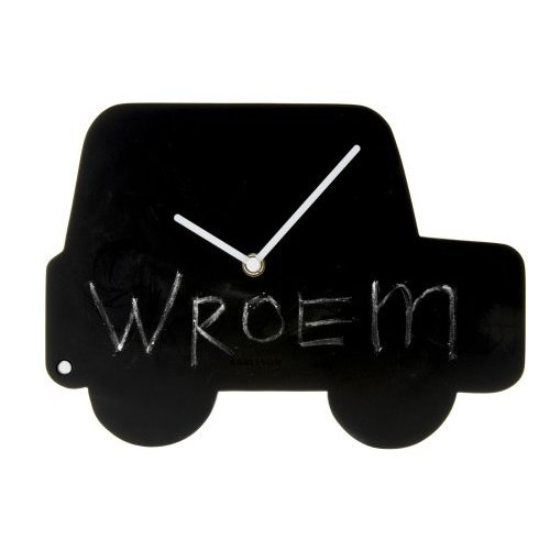 Chalkboard Car Wall Clock