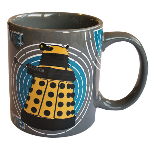 Doctor Who Dalek Heat Changing Mug