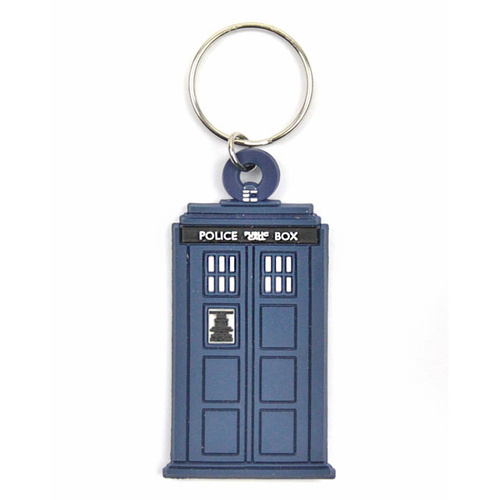 Doctor Who Tardis Keyring