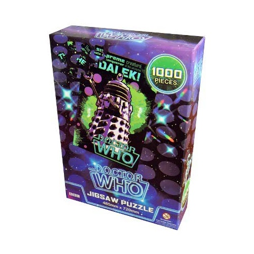 Doctor Who - Dalek Supreme Retro Jigsaw Puzzle