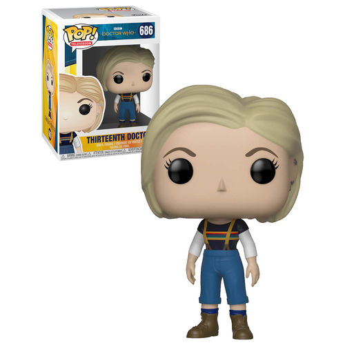 Doctor Who 13th Doctor Without Coat Pop Vinyl Figure