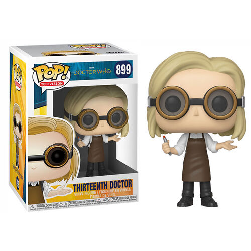 Doctor Who 13th Doctor with Goggles Pop Vinyl Figure