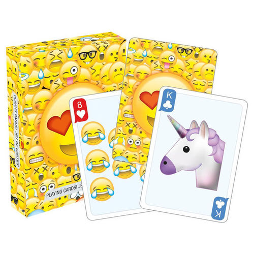Emoticon 2.0 Playing Cards