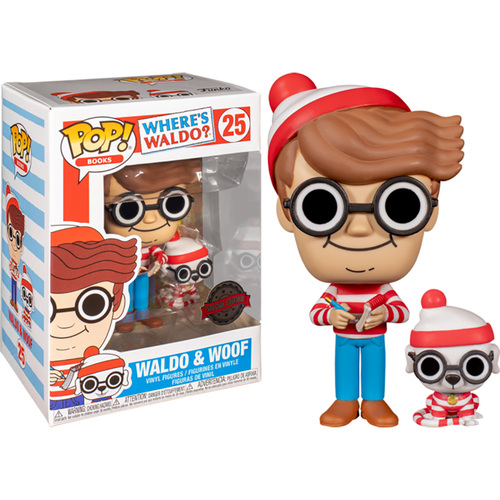 Where's Waldo Pop Vinyl
