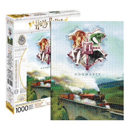 Harry Potter Hogwarts Express Train 1000pc Jigsaw Puzzle