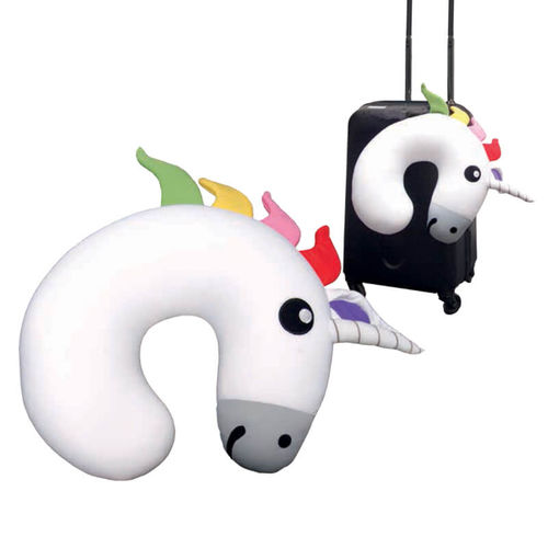 Huggable Unicorn Travel Pillow