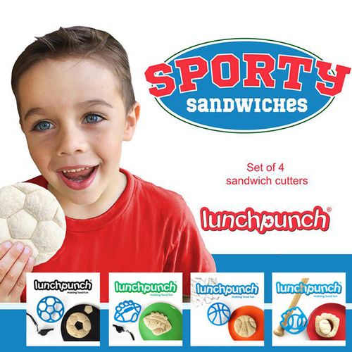 Lunch Punch Sporty Sandwiches