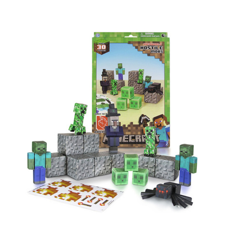 Minecraft Paper Craft - Hostile Mobs Pack