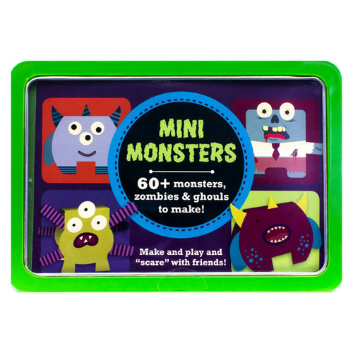 Mini Monsters in a Tin