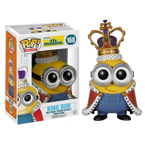 Minions Minion King Pop Vinyl Figure