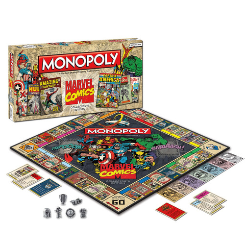 Marvel Comics Monopoly Edition