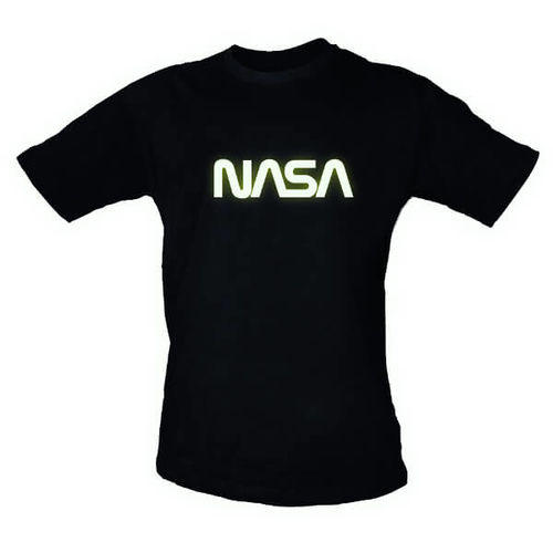 NASA 1970's Worm Logo TShirt Medium