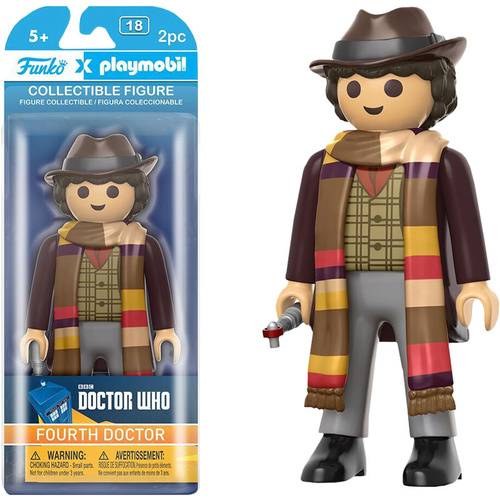 Playmobil 6 inch Figure Doctor Who 4th Doctor