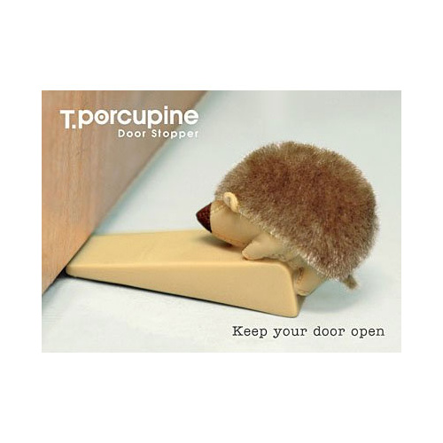Porcupine Door Stopper