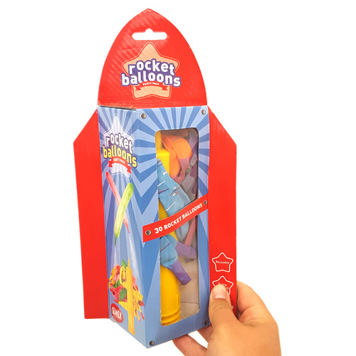 Party Pack Rocket Balloons