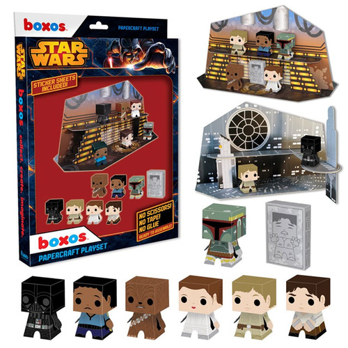 Star Wars Papercraft Activity Set