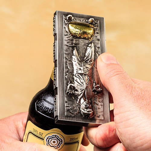 Star Wars Han Solo in Carbonite Metal Bottle Opener