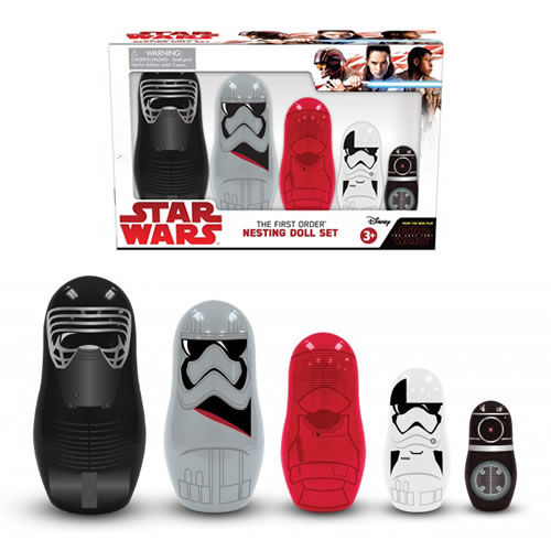 Star Wars The First Order Nesting Doll Set